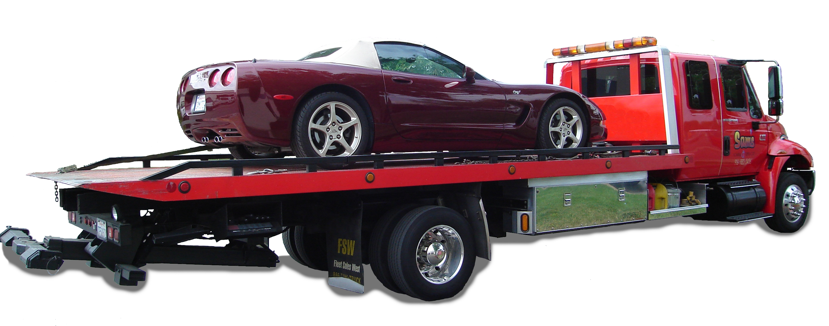 Sam S Towing Amp Transport Our Services